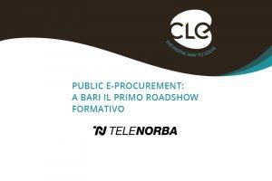Read more about the article Norbaonline.it dedica una news al 1° Roadshow sul Public e-Procurement