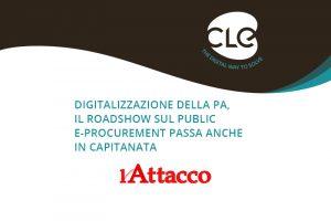 Read more about the article Sul Quotidiano l'Attacco si parla del 1° Roadshow sul Public e-Procurement