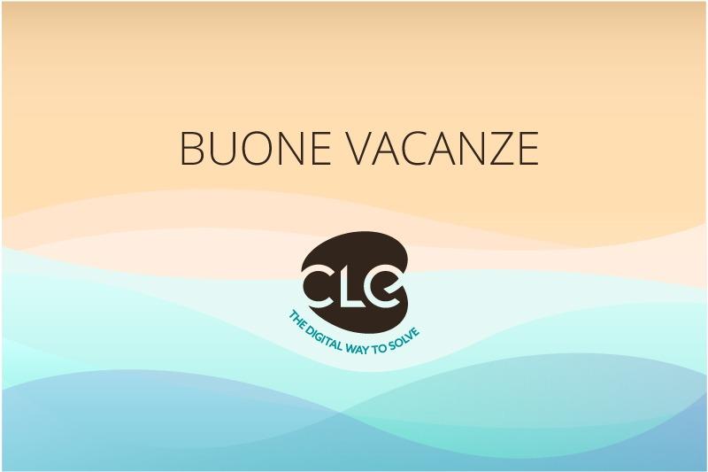 Buone Vacanze da CLE