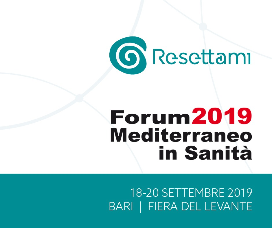 forum resettami cle mediterraneo in sanità