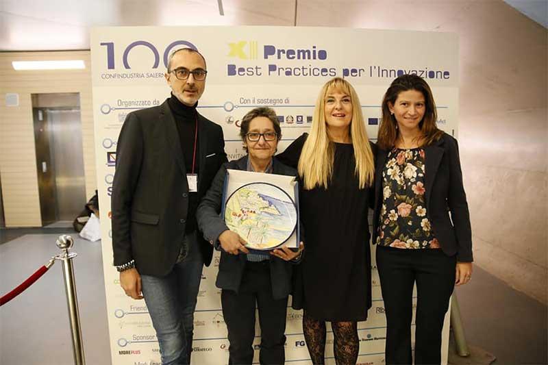 """Read more about the article CLE protagonista al Premio Best Practices per l'Innovazione di Confindustria Salerno: secondo posto nella categoria """"Imprese"""" con Resettami"""