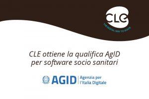 Read more about the article CLE ottiene la qualifica AgID per software socio-sanitari