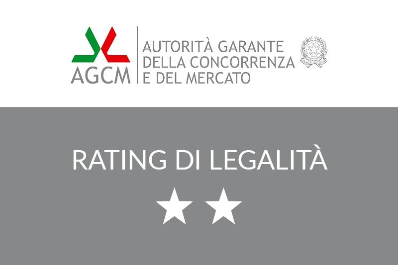 You are currently viewing L'AGCM (Autorità Garante della Concorrenza e del Mercato) assegna a CLE il Rating di Legalità con il punteggio di due stelle