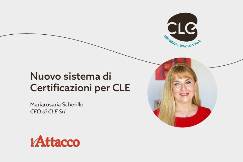 sistema di certificazioni CLE