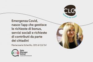 """Read more about the article Resettami Servizi a Domanda su Data Manager: """"Emergenza Covid, nasce l'app che gestisce le domande di servizi dei cittadini"""""""