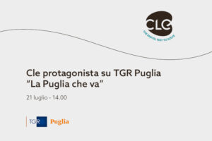 Read more about the article Cle protagonista su TGR Puglia