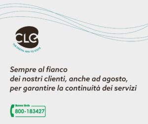 Read more about the article CLE assicura la continuità dei servizi anche ad agosto